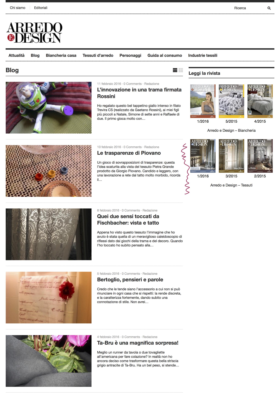 Blog Arredo e Design 